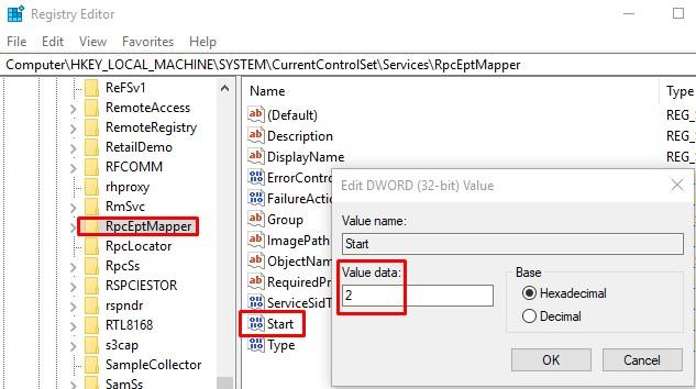 Rpceptmapper Registry