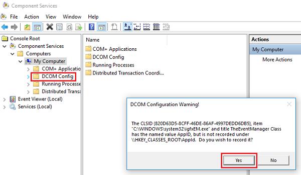 Register Dcom Components