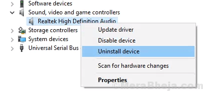 Uninstall Audio Driver Min
