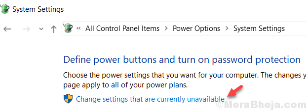 Change Settings That Currently Unavailable Min