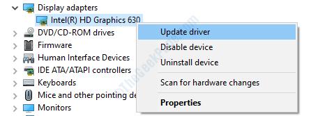Display Adapters