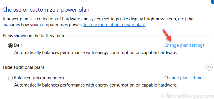Power Plan Min