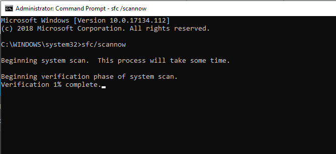 Scan Corrupted Files 1
