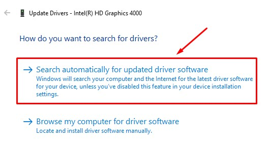Search Automatically For Software Update