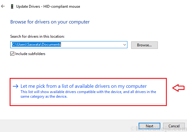Update Mouse Driver Min