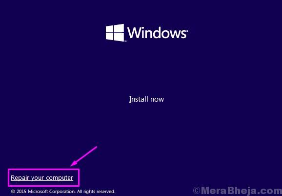 Windows Setup Repair Comp