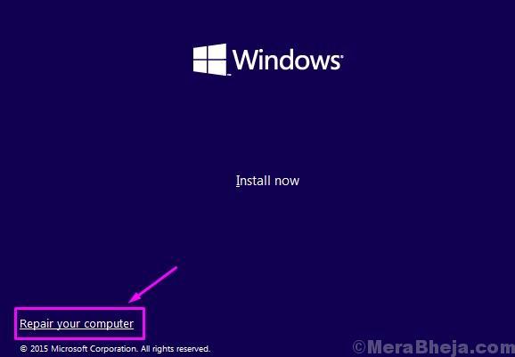 Windows Setup Repair Comp