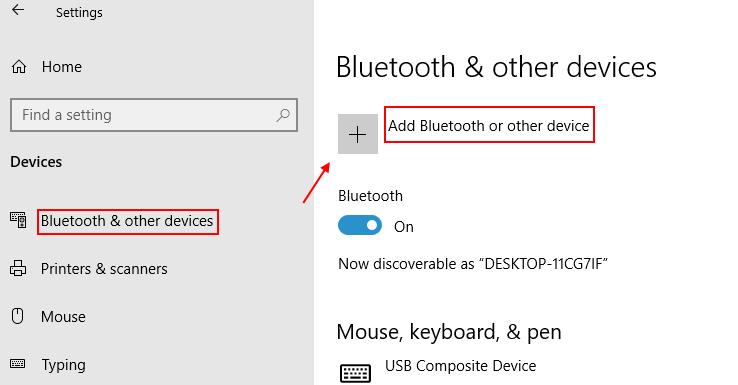 Add Bluetooth Devices Min