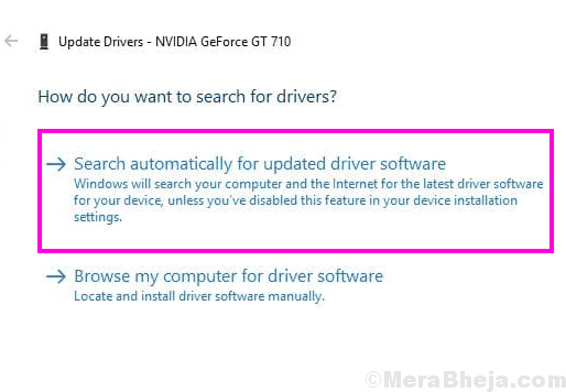 Auto Update Nvidia Control Panel Missing Windows 10
