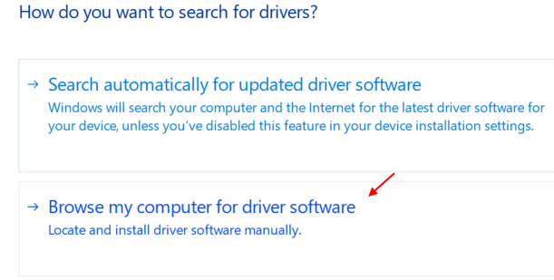 Browse Computer Driver Software