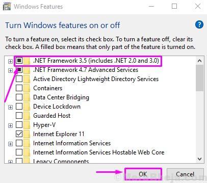 Check Net Framework 3.5