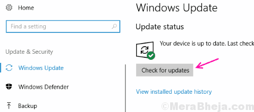 Check For Updates Driver Verifier Detected Violation Windows 10