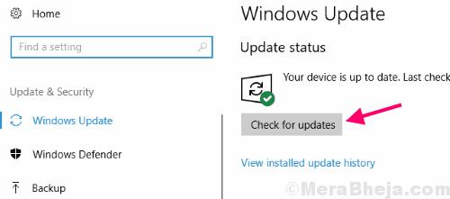 Check Updates Windows 10 Calculator Not Working