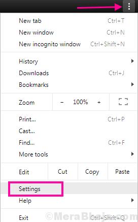 Chrome Menu Err Ssl Version Interference