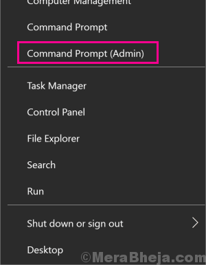 Cmd Admin Err Connection Reset