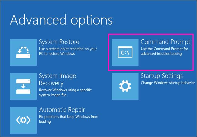 Cmd Fix The Drive Where Windows Is Installed Is Locked Windows 10 Error