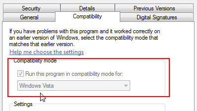 Compatibility Touchpad Scroll Not Working