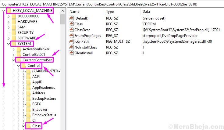Edit Registry Usb Error