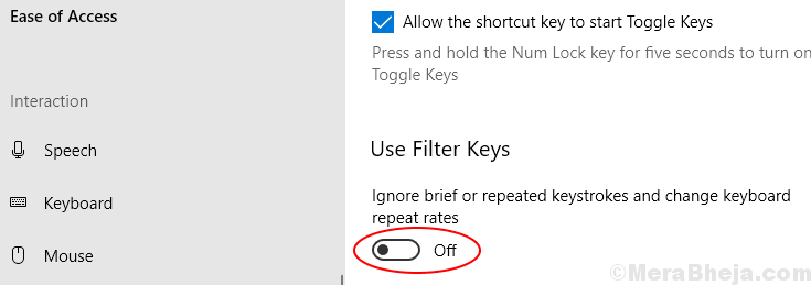 Fix Keyboard Not Typing problem in Windows 10 PC