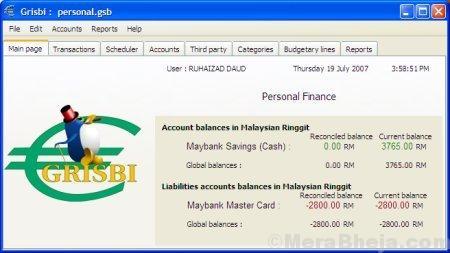 Grisbi Finance Manager Min