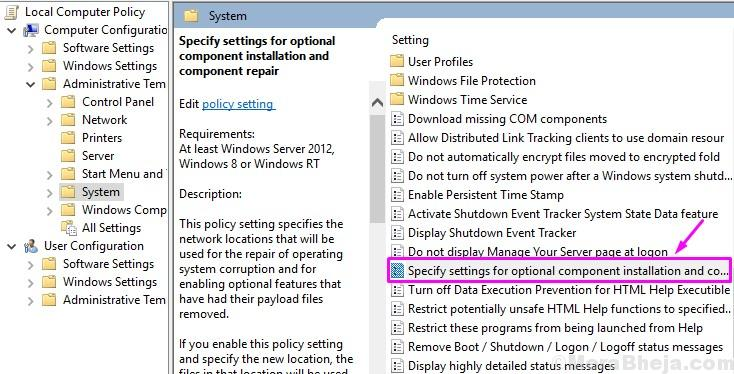 Group Policy Editor Address 1