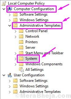 Group Policy Editor Address