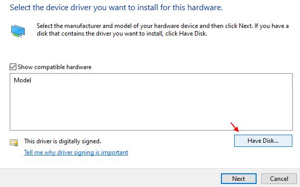 Have Disk Min