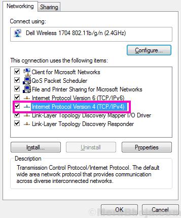 Ipv4 Err Network Changed Chrome