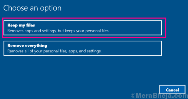 Keep Files User Profile Service Failed The Logon Windows 10