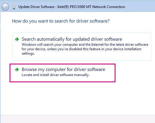 Manual Update Fix Snaptics Smbus Driver Issue