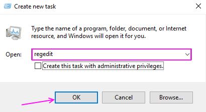 New Task Registry