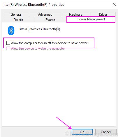 Power Management Bluetooth