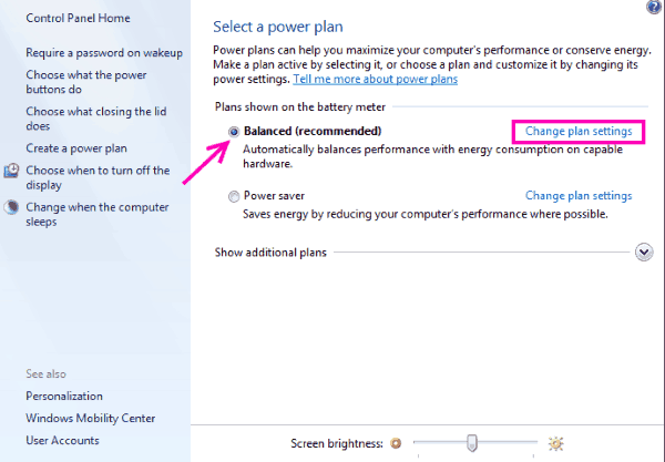 Power Plan Fix Driver Power State Failure Error Windows 10