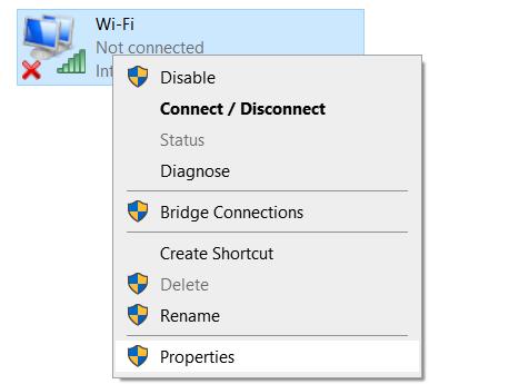 Properties Adapter