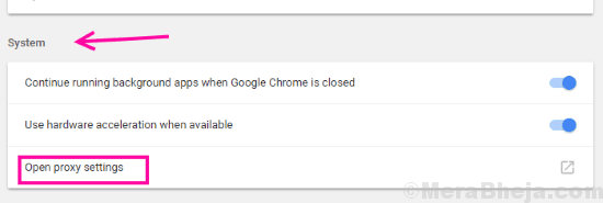 Proxy Err Network Changed Chrome