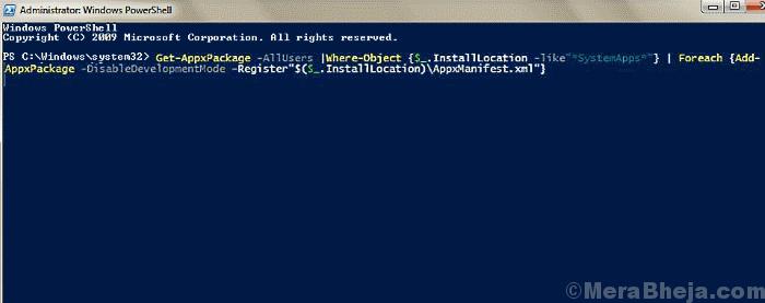 Pwrshell Code 2 Windows 10 Calculator Not Working