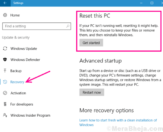 Recovery Driver Verifier Detected Violation Windows 10