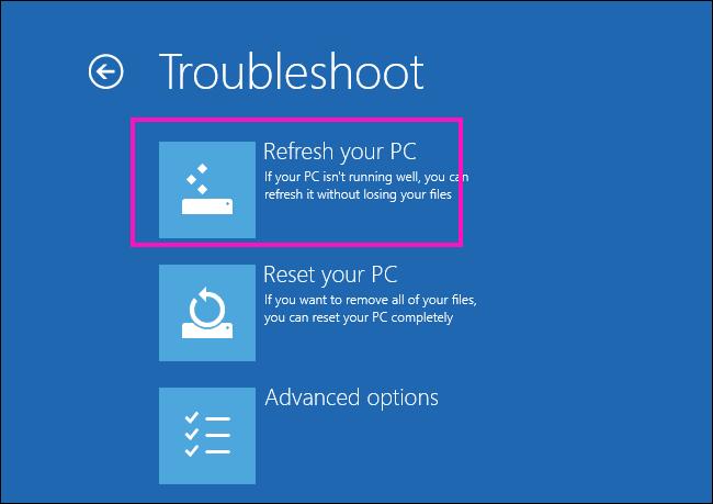 Refresh Fix The Drive Where Windows Is Installed Is Locked Windows 10 Error