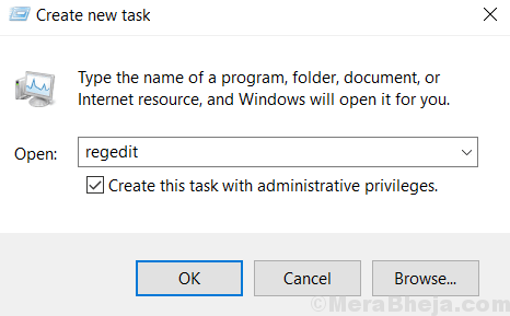 Regedit Create Task With Admin Priviledge