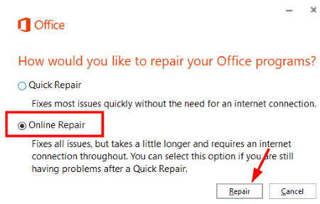 Repair Office 2 Outlook Not Responding