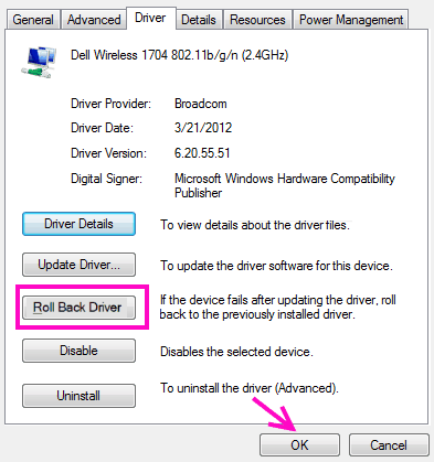 Roll Back 5ghz Wifi Not Showing Up Windows 10