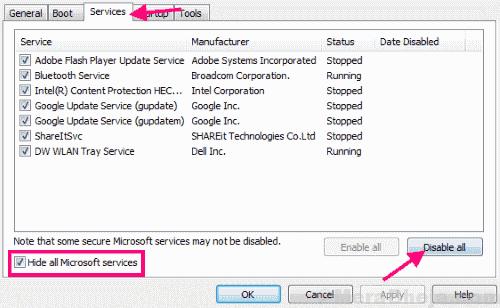 Services Fix 0xc1900101 Windows 10 Error