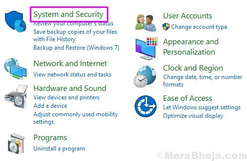 System And Security
