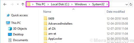 System32 Folder