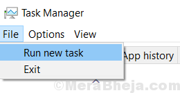 Task Manager Run New Task