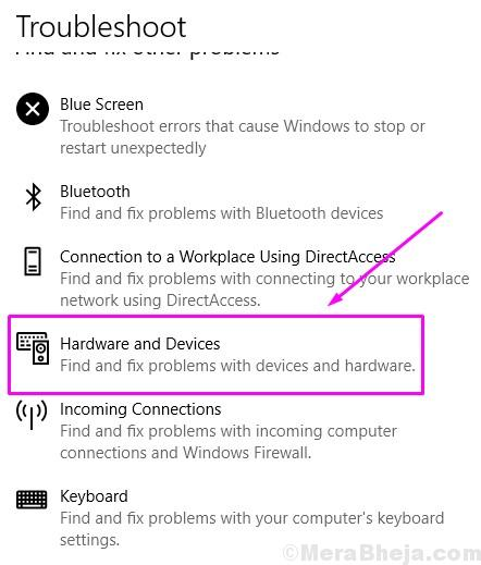 Troubleshoot Hardware And Devices