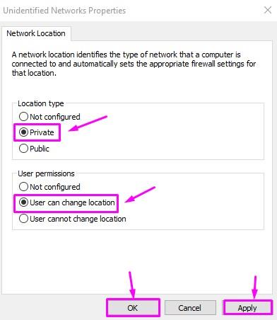 Unidentified Network Properties
