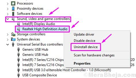 Uninstall Realtek Hd Audio