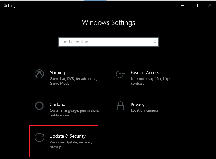 Update And Security
