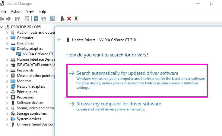 Update Auto Fix Nvidia Installer Cannot Continue Error Windows 10